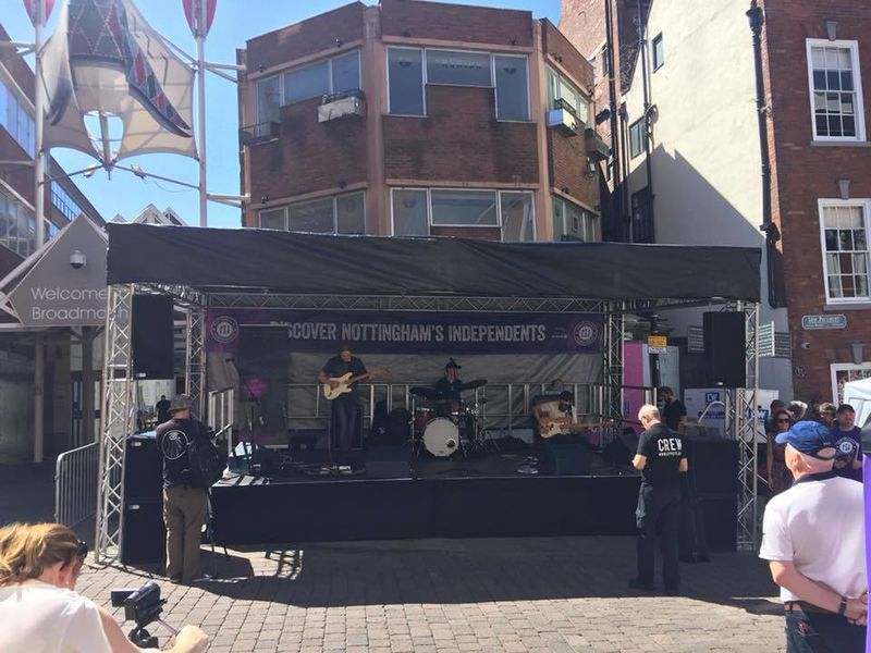 Nottingham Independant Festival Staging